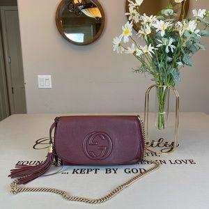 Gucci GG Logo SoHo Chain Shoulder Bag